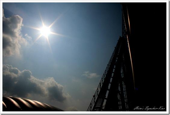 東京ドームと空1