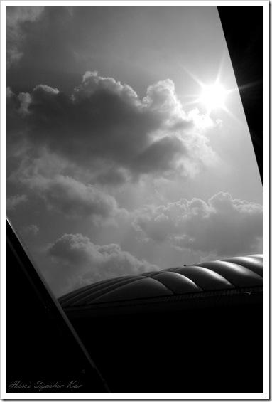 東京ドームと空