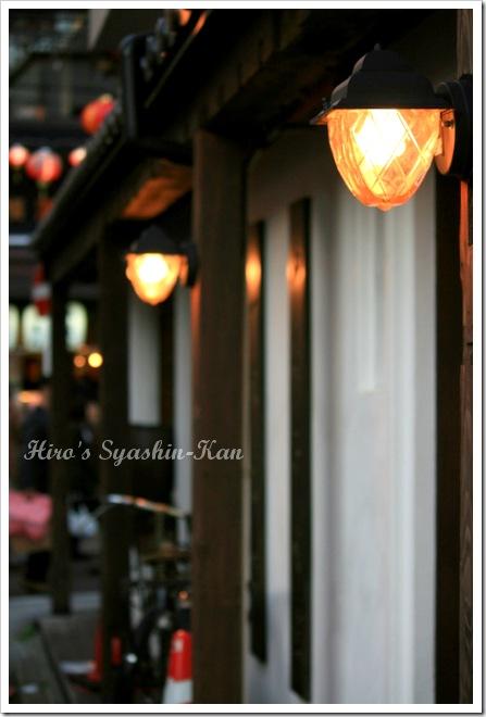 夕暮れの中華街